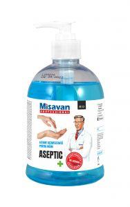 Lotiune dezinfectanta maini Dr.Stephan Aseptic  500ml