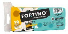 Hartie igienica Fortino, 3 straturi, 10 role
