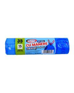 MSV SACI CU MANERE PARF 35L 15/SET 2R ALBASTRI