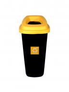 Cos gunoi colectare selectiva Misavan, galben, plastic, 120l