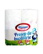 MISAVAN PROSOP BUCATARIE IMPRIMAT 2/set 2 str