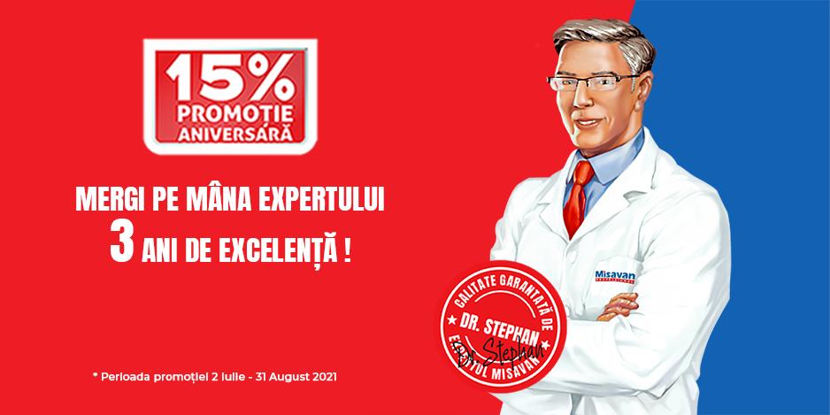 Mergi pe mâna expertului: 3 ani de excelență Dr. Stephan