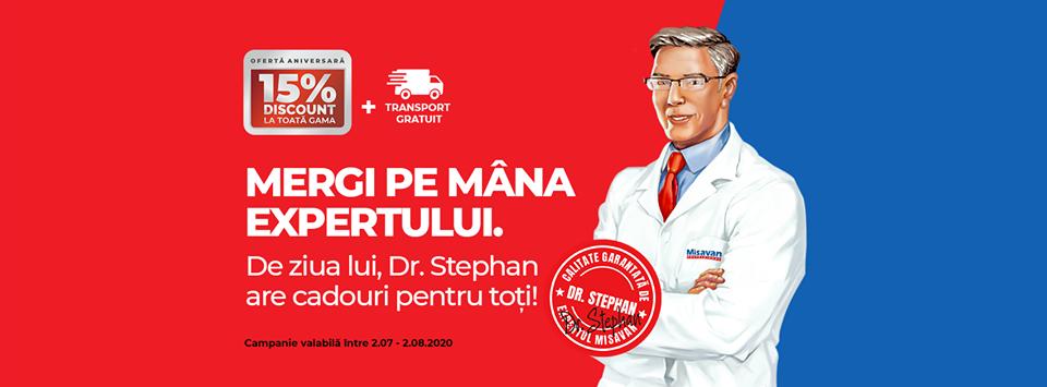Dr. Stephan este expertul Misavan în curățenie. Produse profesionale de curățenie ușor de folosit chiar și la tine acasă.